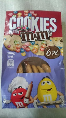 Cookies with M&Ms - Produit - en