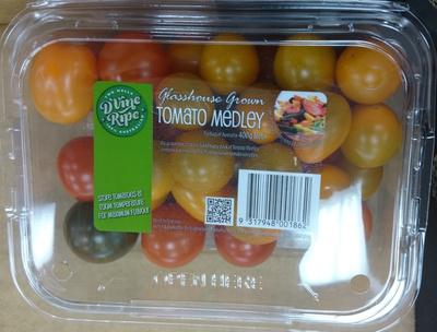 Glasshouse Grown Tomato Medley - Produit