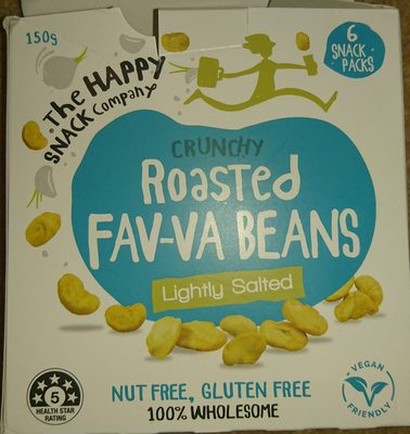 crunchy Roasted Favva beans - Product