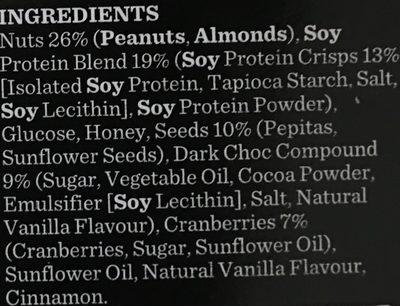 Gourmet Protein Bars Dark Choc & Cranberry - 4