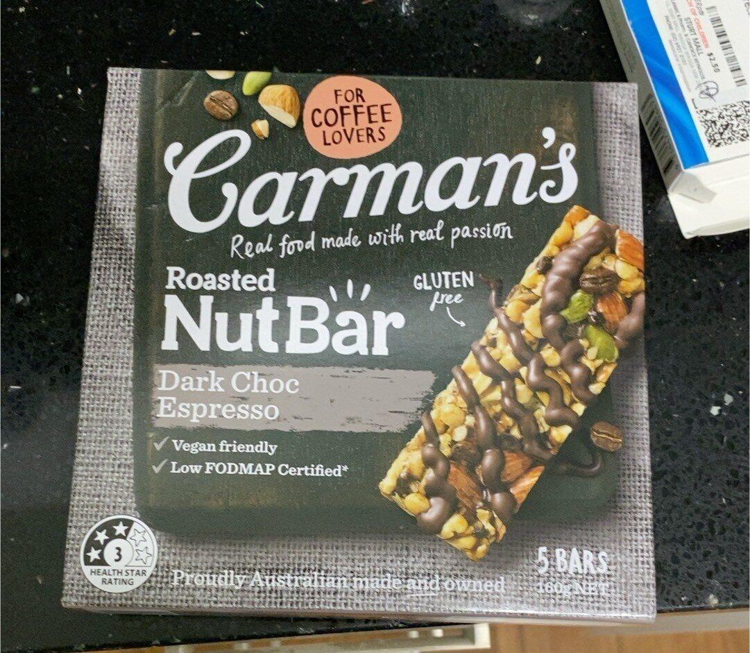 Roasted nut bar - Product - en