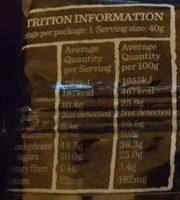 Carman's Gourmet Protein Bars Yoghurt & Berry - Nutrition facts