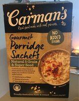 Gourmet Porridge Sachets - Produit - fr