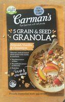 5 grain & seed granola - Produit - en