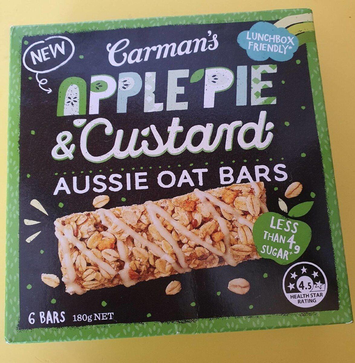 Apple Pie & Custard Aussie Oat Bar - Produit - en