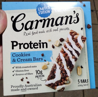 Protein Cookies & Cream Bars - Produit - en