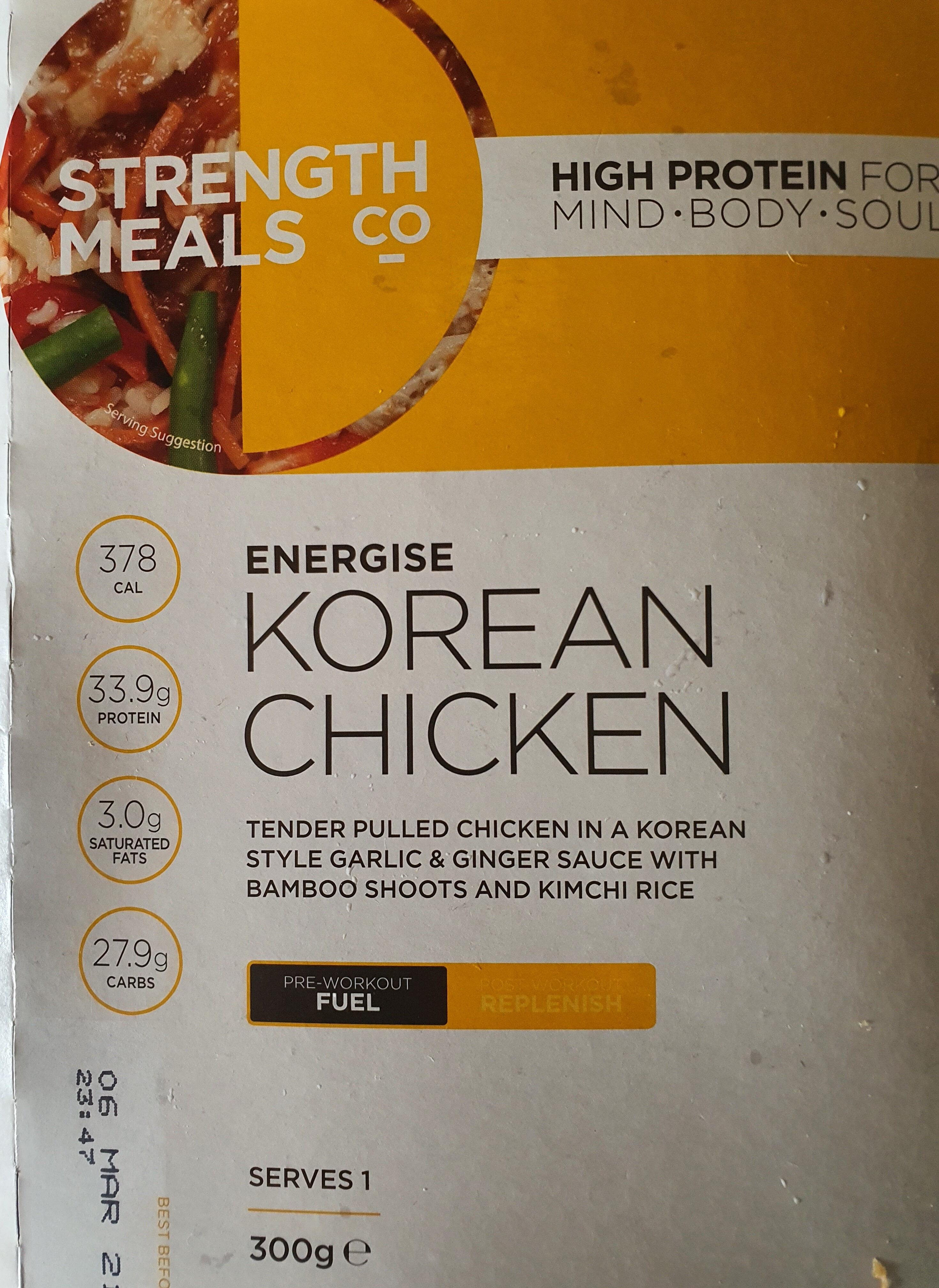 Energise Korean Chicken - Product - en