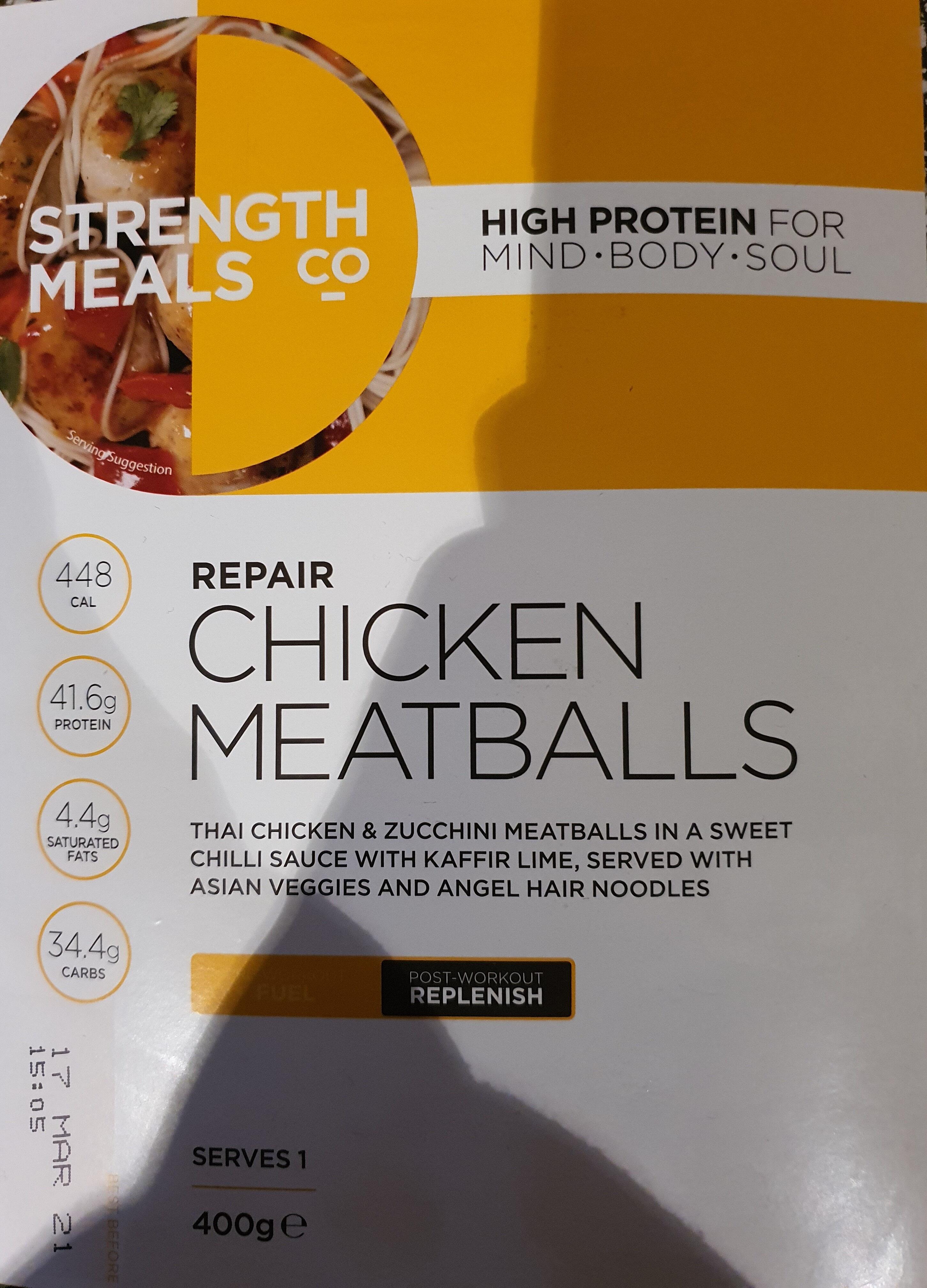 Chicken Meatballs - Product - en
