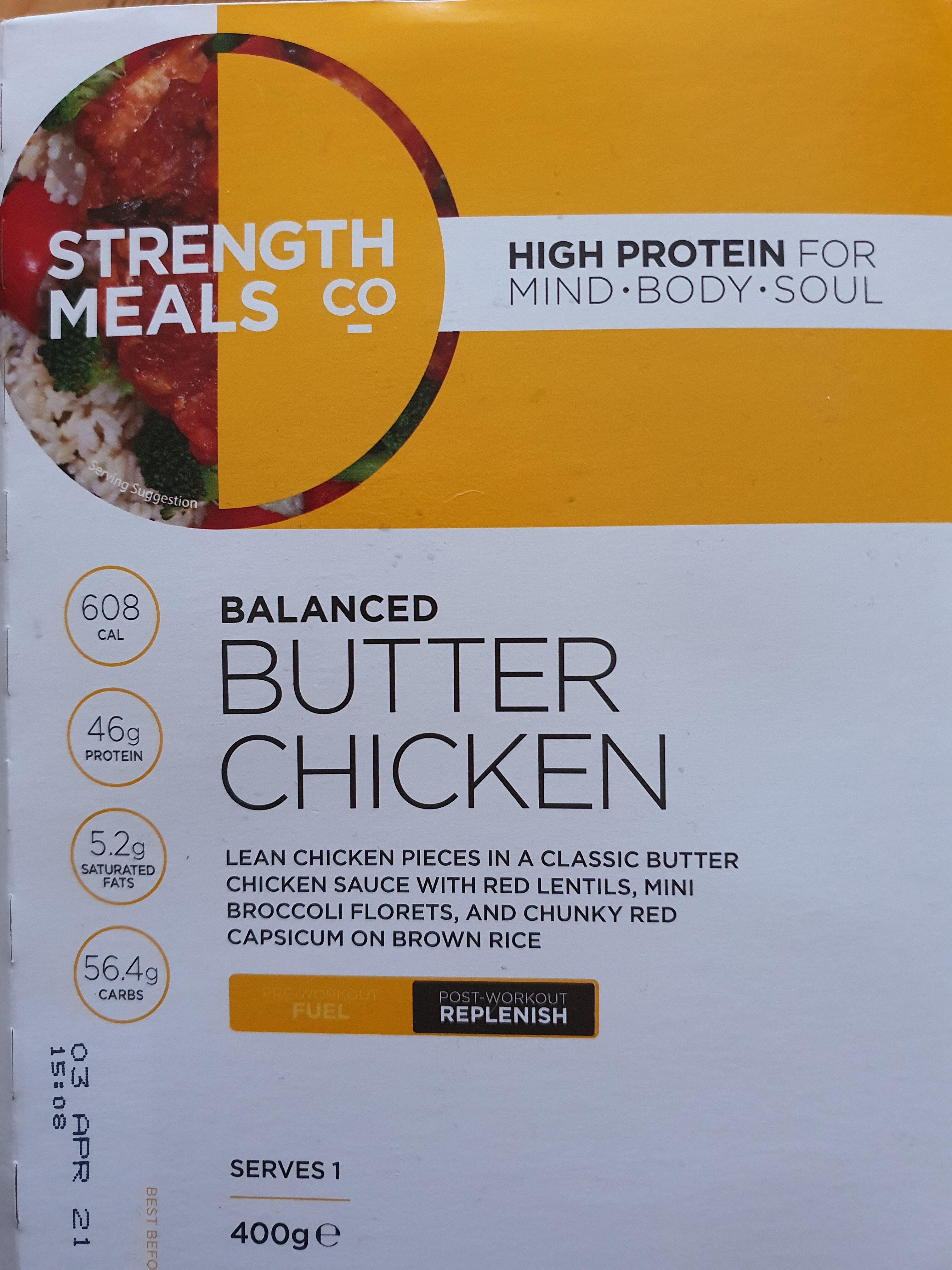Balanced Butter Chicken - Product - en