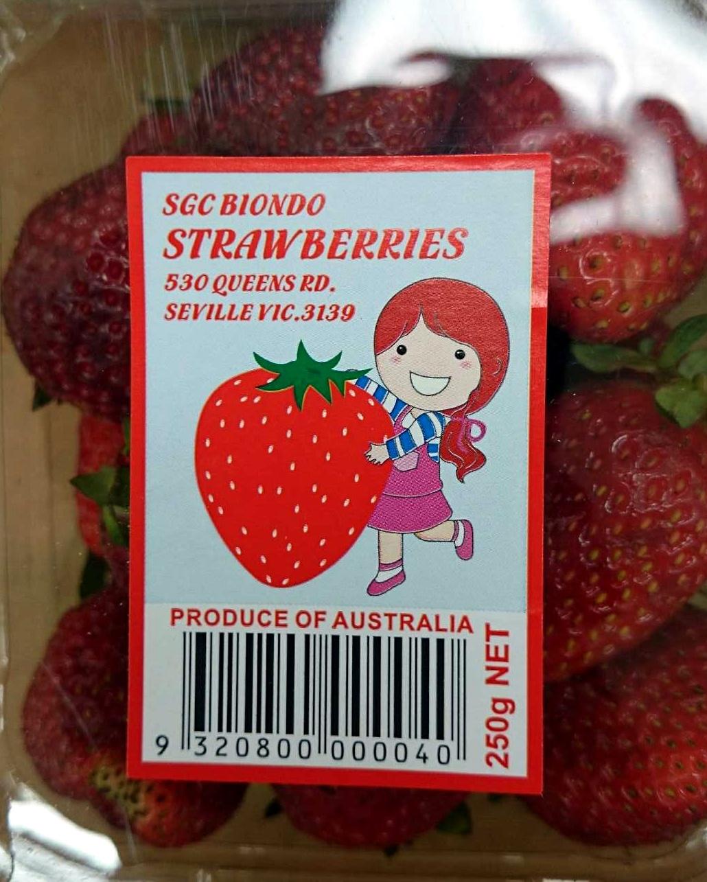Strawberries - Produit - en