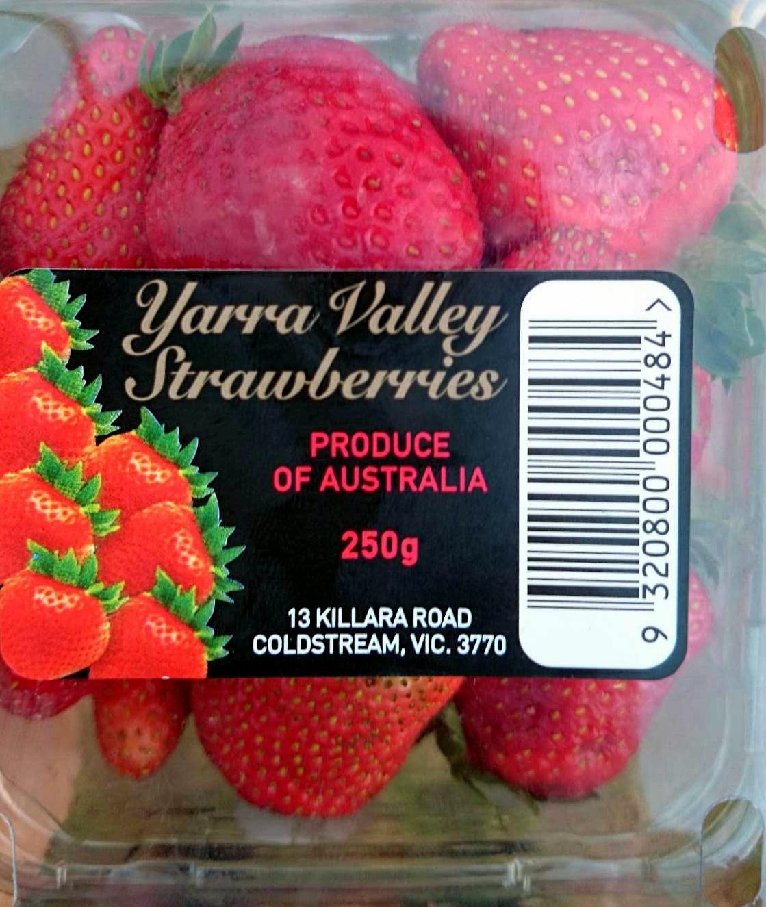 Fresh Yarra Valley Strawberries - Produit - en