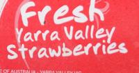 Fresh Yarra Valley Strawberries - Ingredients