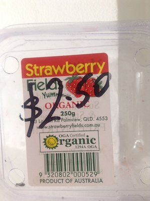 Strawberry Fields Organic - Product