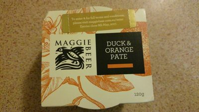 Duck & Orange Pate - Product
