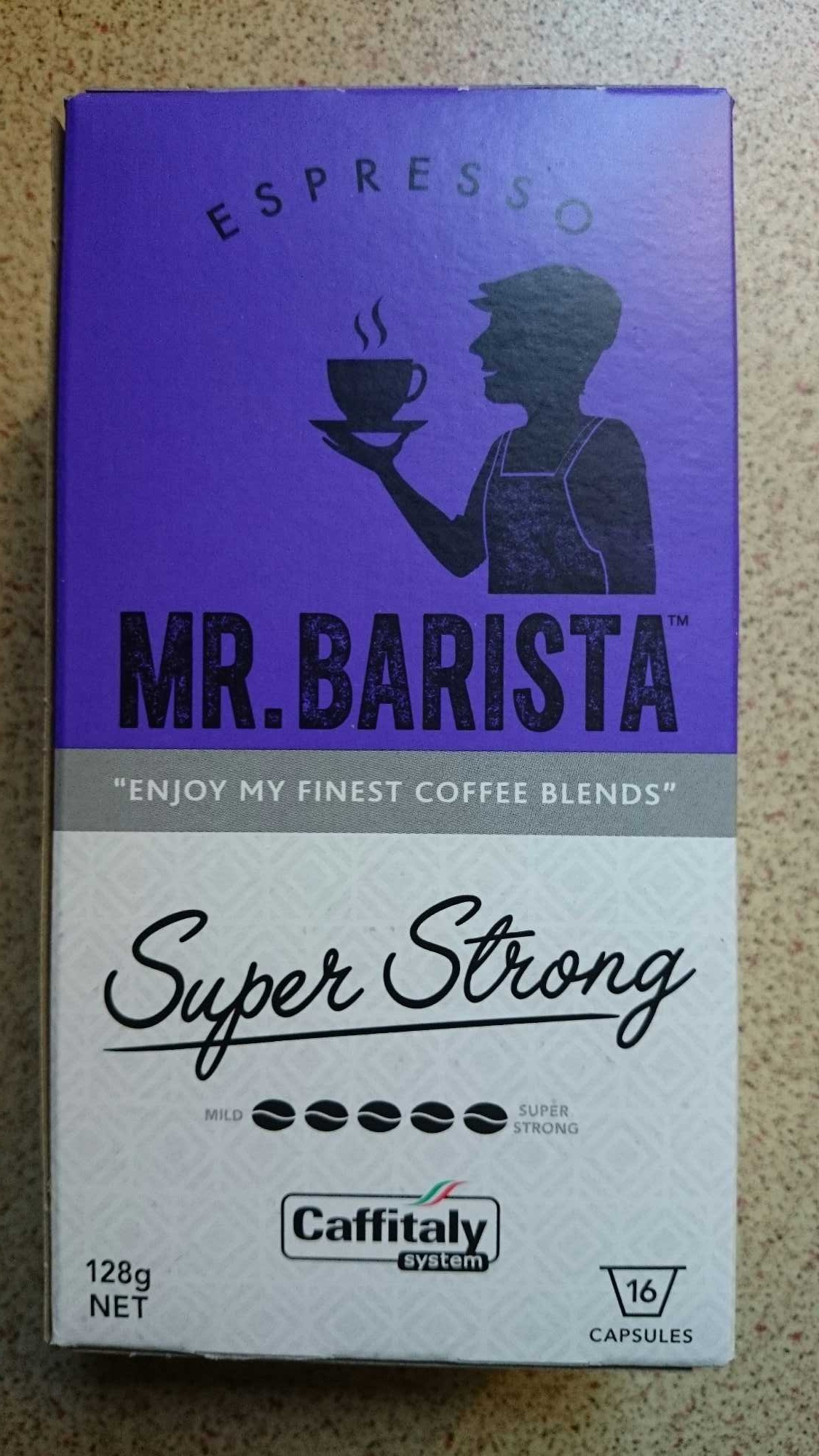 Mr Barista super strong - Product