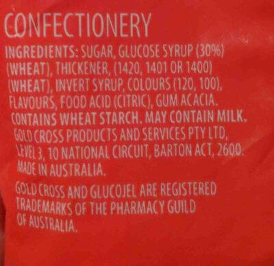 GLUCOJEL - Ingredients - en