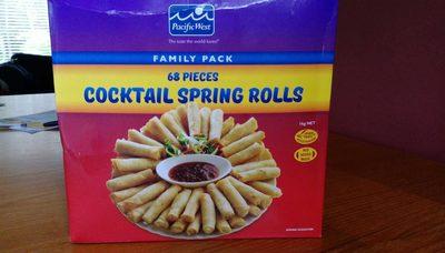 Cocktail Spring Rolls - Product - en