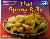 Thai Spring Rolls - Product