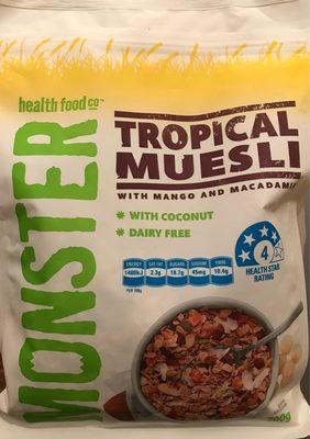 Monster Tropical Muesli - Produit - fr