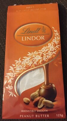 Lindor peanut butter - Product - en