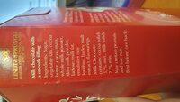 Lindt Milk Chocolate Ball - Ingredients - en