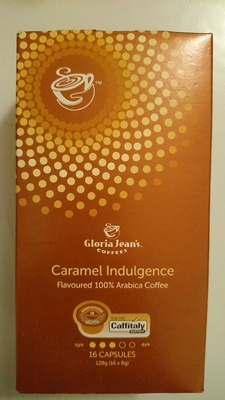 Caramel Indulgence Flavoured 100% Arabica Coffee Caffitaly Capsules - Product