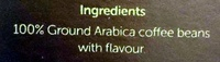Caramel Indulgence Flavoured 100% Arabica Coffee Caffitaly Capsules - Ingredients