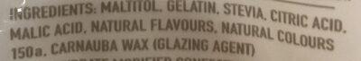 Sugar Free Cola Bottles - Ingredients - en