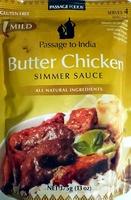 BUTTER CHICKEN SIMMER SAUCE - Product