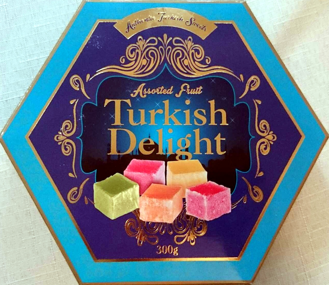 Assorted Fruit Turkish Delight - Product