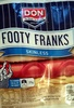 Footy Franks Skinless - Product
