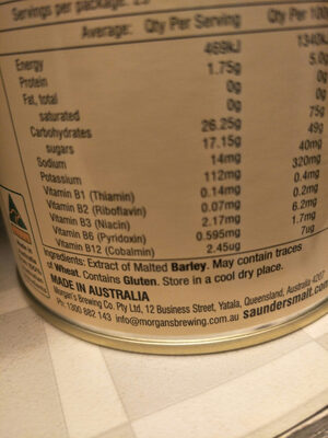 malt extract - Ingredients - en