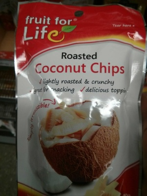 Roasted coconut chips - Product - en