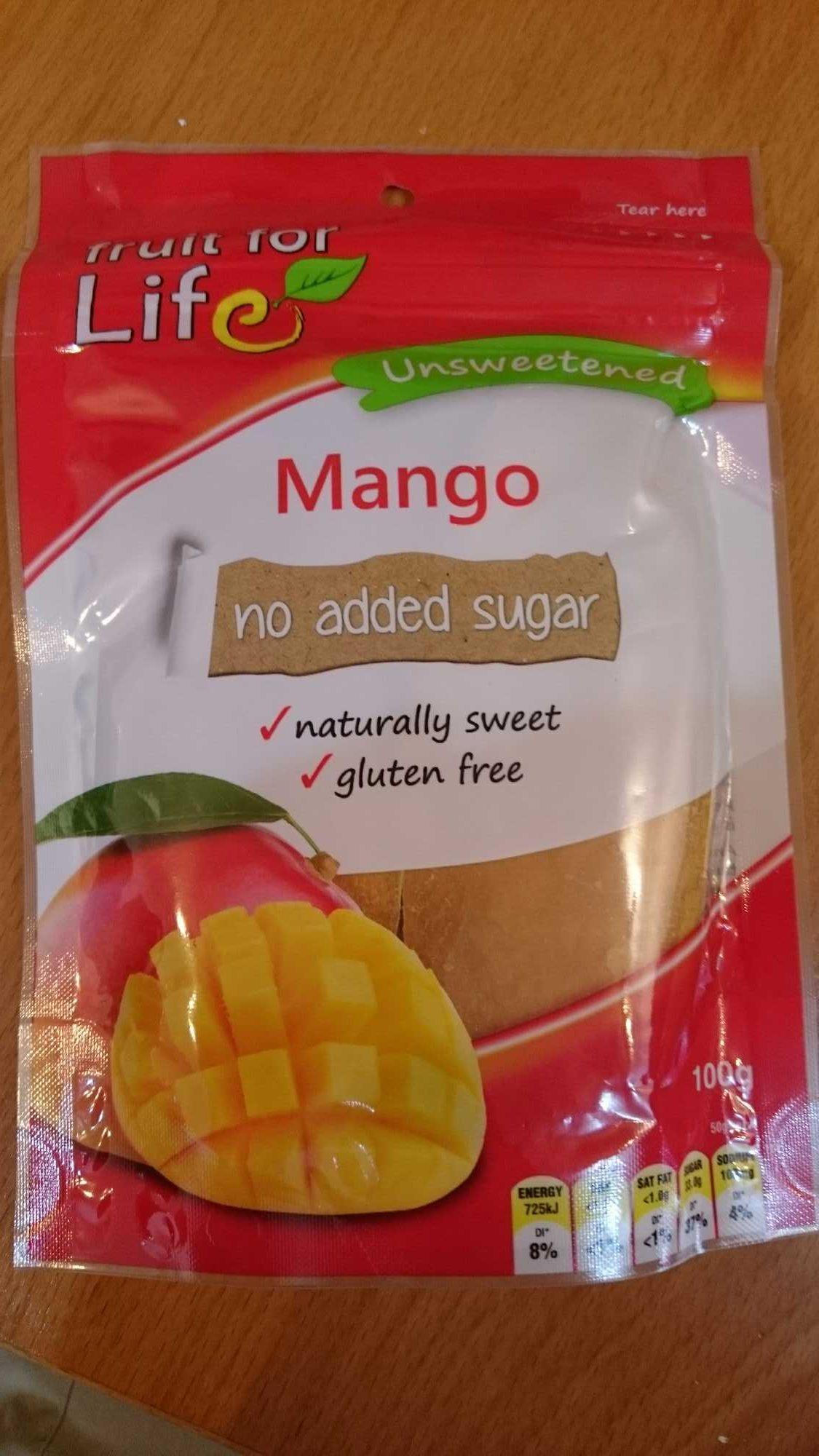 unsweerened mango - Product - en