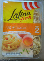 Latina Fresh Egg Fettuccine - Product