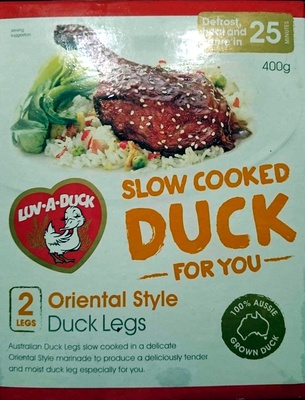 Slow Cooked Duck For You - Oriental Style Duck Legs - Product