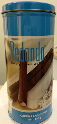 เวเฟอร์ชนิดแท่งกลิ่นคุกกี้แอนด์ครีม - Produit - th