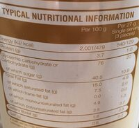 Redondo 400 Piece Cappuccino - Nutrition facts - en