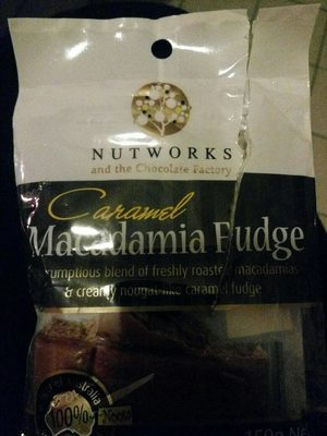 calorie Caramel Macadamia Fudge