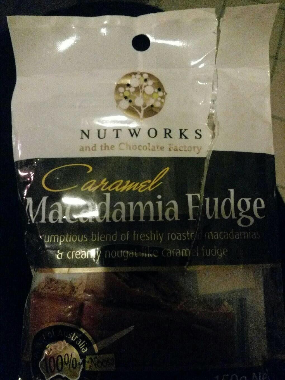 Caramel Macadamia Fudge - Product - fr
