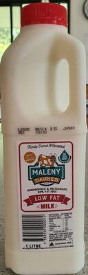 Maleny Dairies Low Fat Milk - Ingrediënten