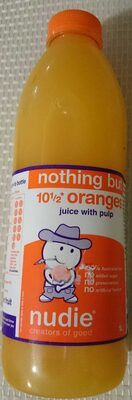 Nothing but orange juice with pulp - Product - en