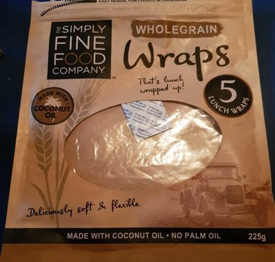The Simply Fine Food Company Wholegrain Wraps - Product