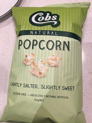 Popcorn lightly salted, slightly sweet - Product