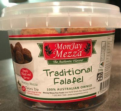 Traditional falafel - Produit