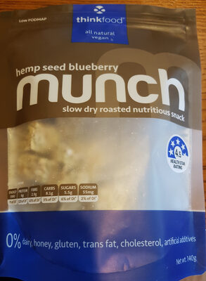 Hemp Seed Blueberry Munch - Product