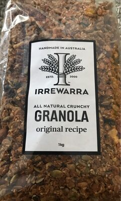 All natural crunchy granola - Product - en