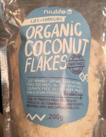 Organic coconut flakes - Product