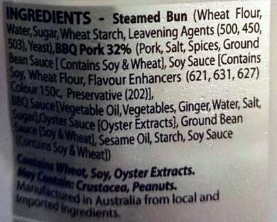 BBQ Pork Buns - Ingredients - en