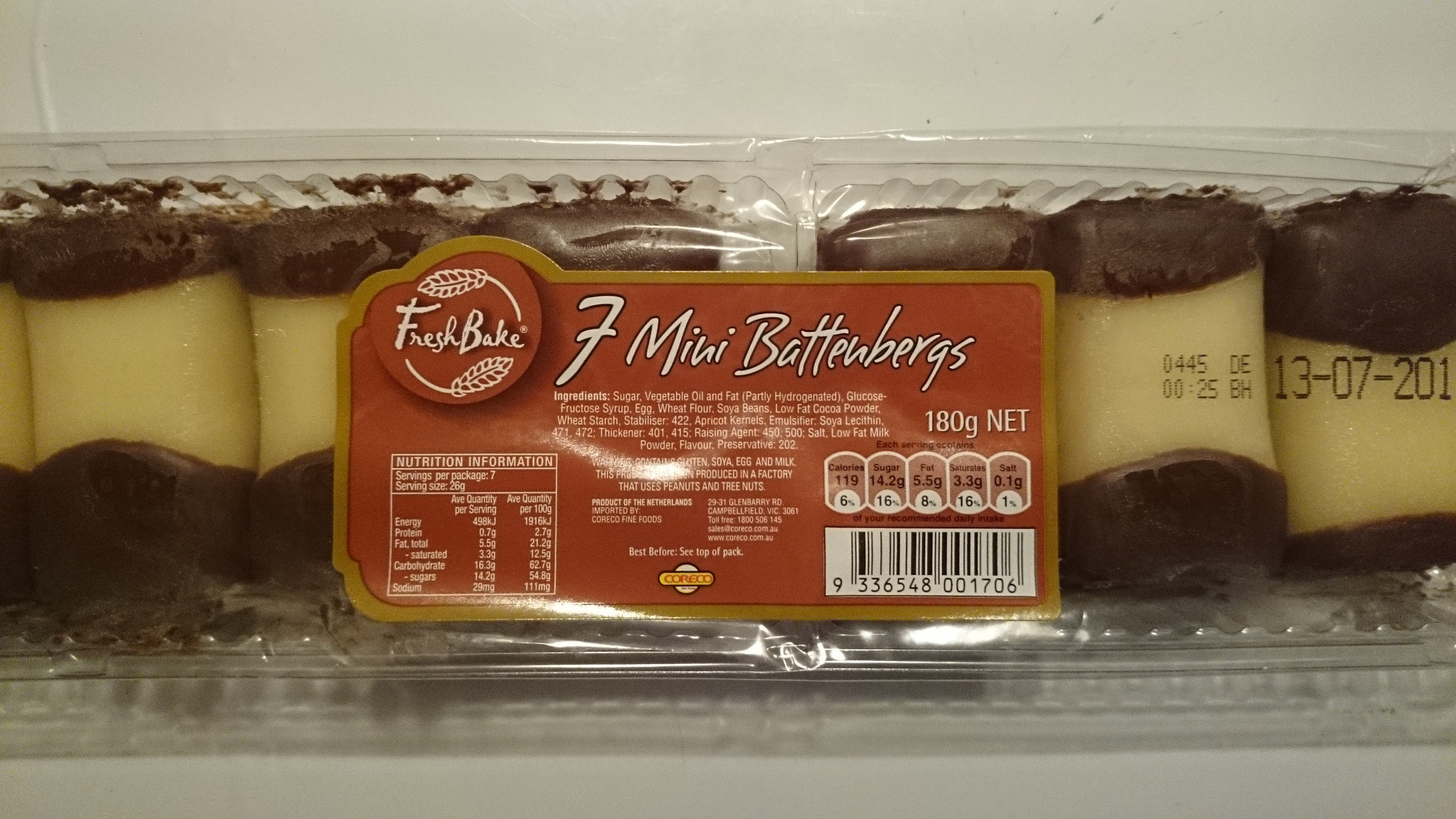7 Mini Battengergs - Product